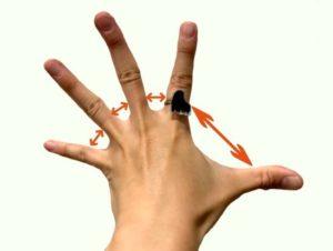 手を広げる方法1